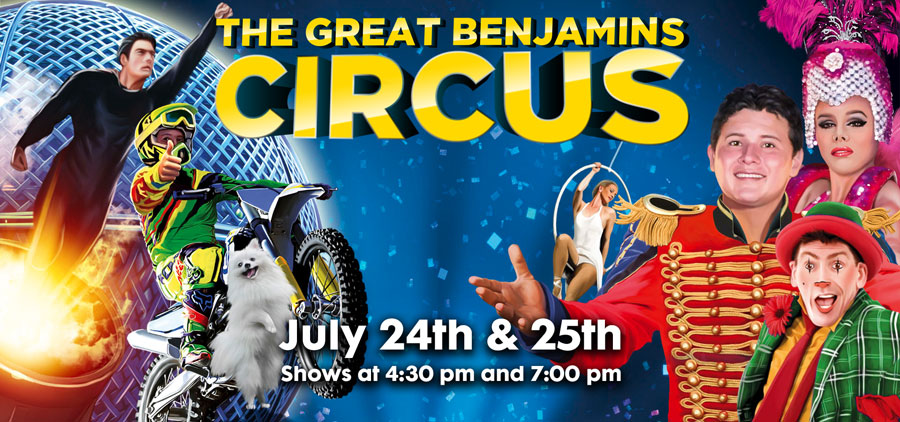 The Great Benjamin Circus - Antigonish Market Square