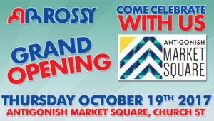 Rossy Antigonish Grand Opening