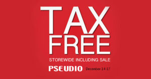 Tax Free at PSEUDIO