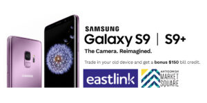 Samsung GS9 Zero Down and 150.00 bill credit at Eastlink
